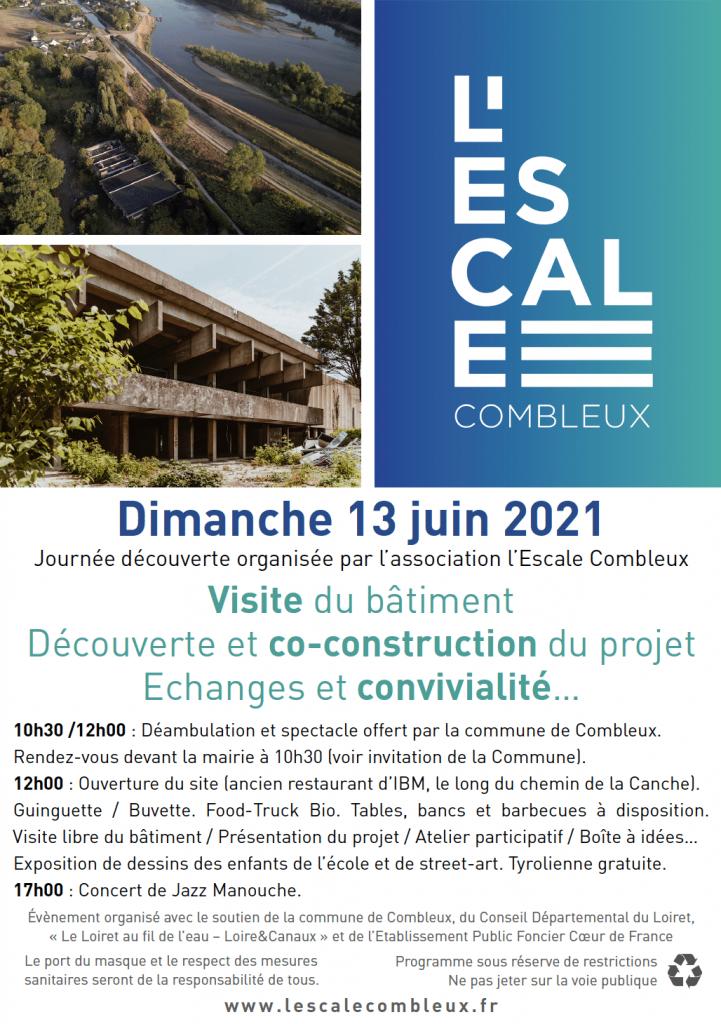 Escale combleux - Flyer Juin 2021